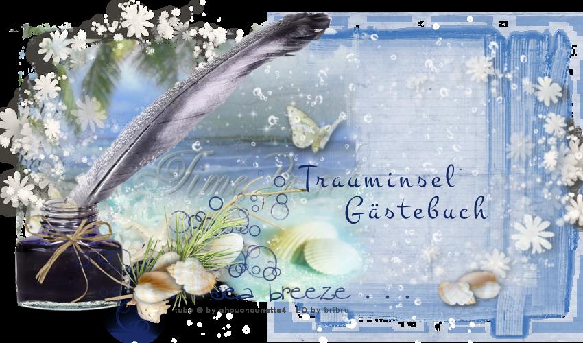 Gästebuch Banner - verlinkt mit http://www.meine-trauminsel.ch